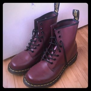 Dr. Martens. Practically brand new.